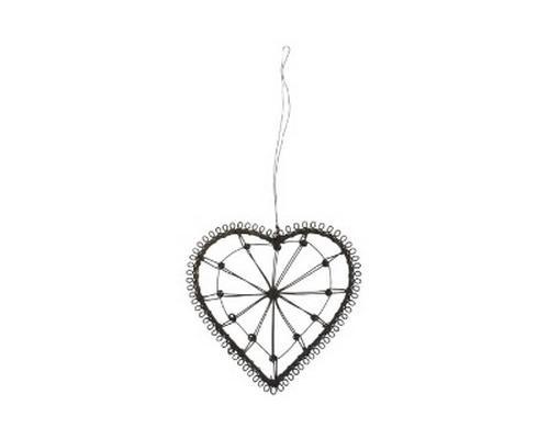 Små hjerter i metal
