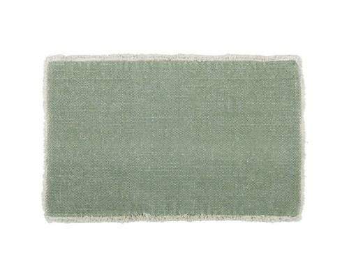 Flotte dækkeservietter i grøn