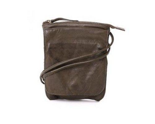 Billede af Grøn taske i skind